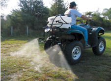 atv boomless sprayer