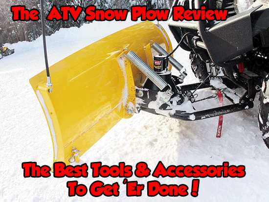 The ATV Snow Plow Review Page