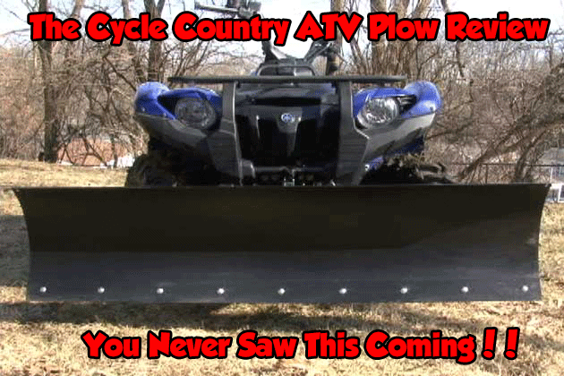 The Cycle Country ATV Plow Review