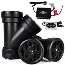 atv bluetooth waterproof speakers