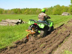 garden plow for atv